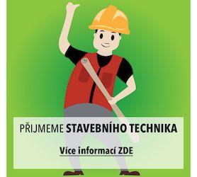 Přijmeme stavebního technika