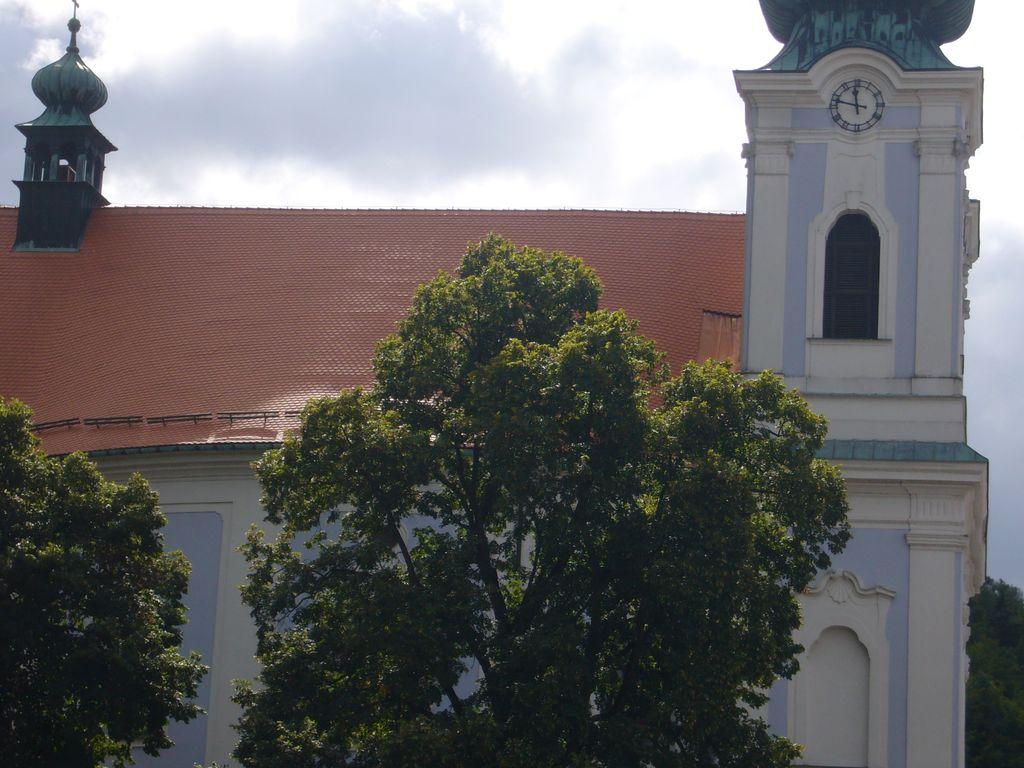 Kostel Sloup - realizace v roce 2015
