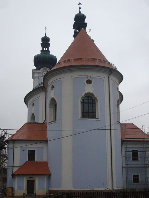 Kostel Sloup - realizace v roce 2013