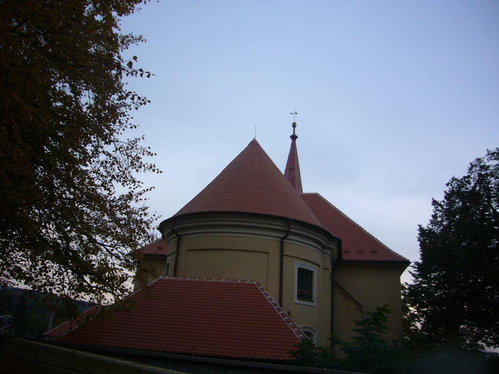 Kostel Kuželov - realizace v roce 2013