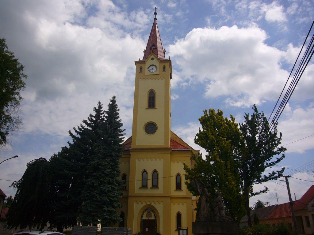 Kostel Moravský Písek - realizace v roce 2012