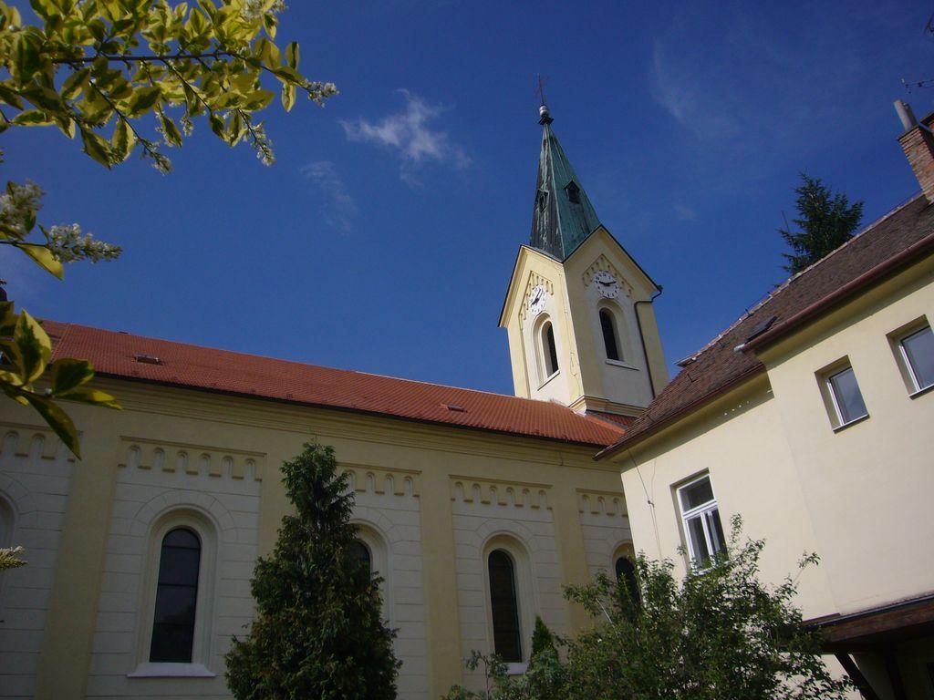 Kostel Dubňany - realizace v roce 2012