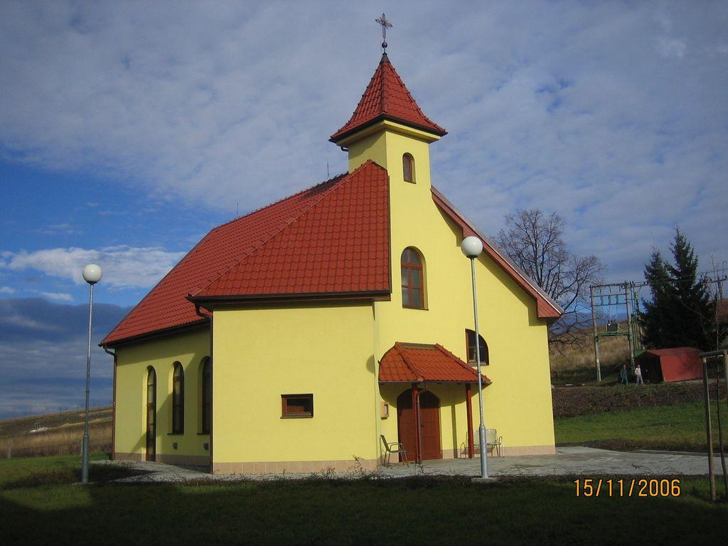Kaple Suchov - realizace v roce 2004