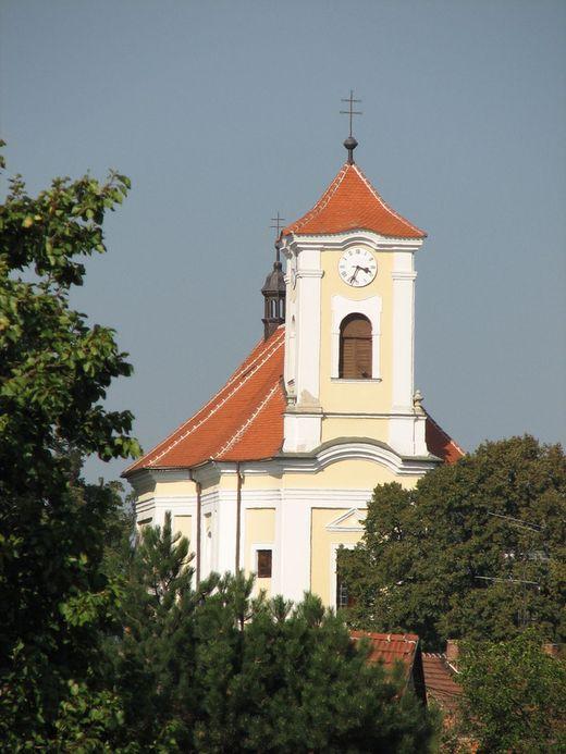 Kostel Vlkoš  - realizace v roce 2000