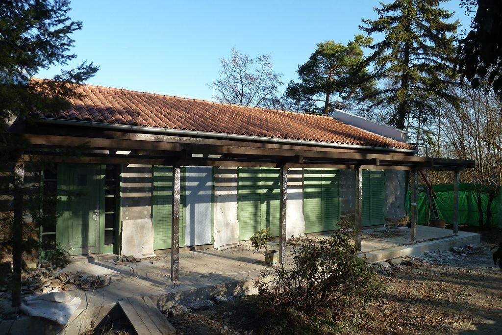 Rekreační objekt Hradišťko - realizace v roce 2013