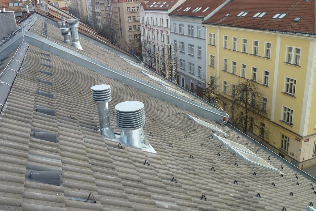 Bytový dům Praha - realizace v roce 2012