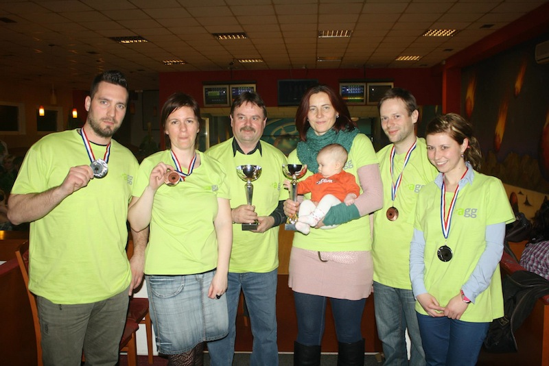foto - Turnaj v bowlingu pořádaný OHK Hodonín