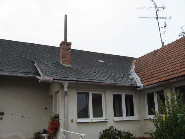 foto - Naposledy dokončená střecha